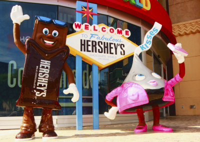 Hershey's Sculpture